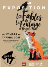 Les Fables de la Fontaine en briques LEGO<sup>®</sup> à Paris 17E