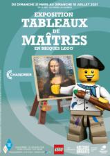 Les Tableaux de Maîtres en briques LEGO<sup>®</sup> à Chanorier (78)